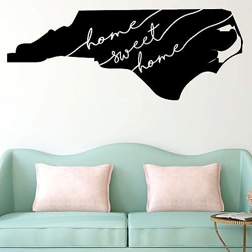 Amazon.com: North Carolina Wall Decor - Sweet Home - State ...