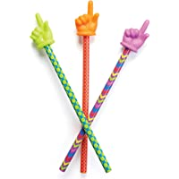 """Learning Resources LER1958 Patterned Hand Pointers Set, 15"""" (3 Piece),15 in,Multicolor"""