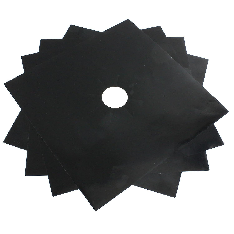 SPARES2GO colorfulbagsuk fogones de Gas Protector hojas limpio f/ácil cortados 4 unidades, negro