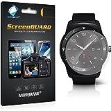 6 x Membrane Pellicola Protettiva LG G Watch R - Trasparente, Confezione ed accessori