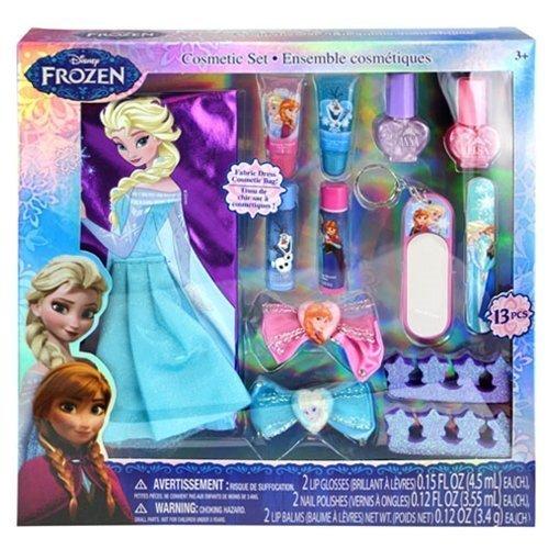 12-Piece Disney's Frozen Beauty Cosmetic Set for Kids - Frozen Beauty Play Kit for Kids by TopValueSupplies (Image #1)