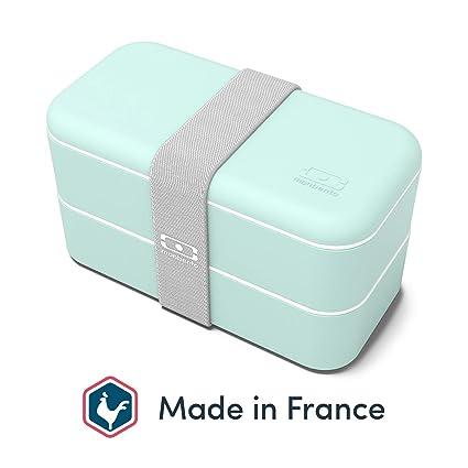 quadratische Lunchbox Litchi Monbento Square Bento Box