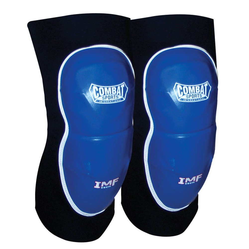 Combat Sports MMA Advanced Imf Tech Striking Elbow Pads (ブルーブラック)  Large