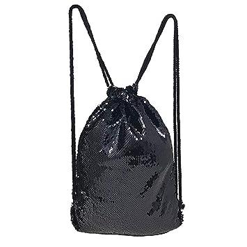 Amazon.com: GOGO - Bolsa de lentejuelas con cordón para ...