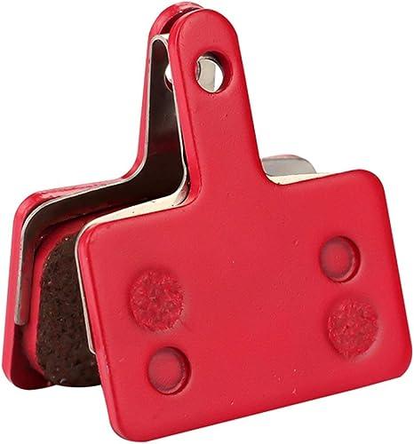 Lorenlli Para P01BP 2 UNIDS Resina de Metal Disco de Bicicleta Pastillas de Freno Discos de Fricci/ón de Bicicleta de Monta/ña Profesional para Shimano M375