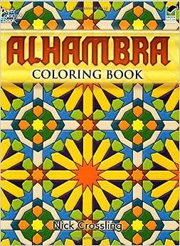 Alhambra Coloring Book Dover Design Books