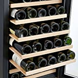 Kalamera 50 Bottle Compressor Wine Refrigerator