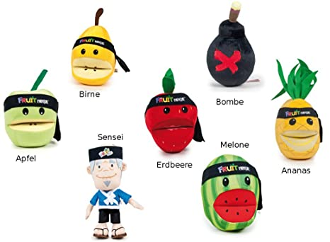 Ninja Fruits Pera Peluche 20 cm * Nuevo *: Amazon.es: Bebé