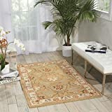 Nourison India House (IH76) Sage Rectangle Area Rug, 2-Feet 6-Inches by 4-Feet (2'6'' x 4')