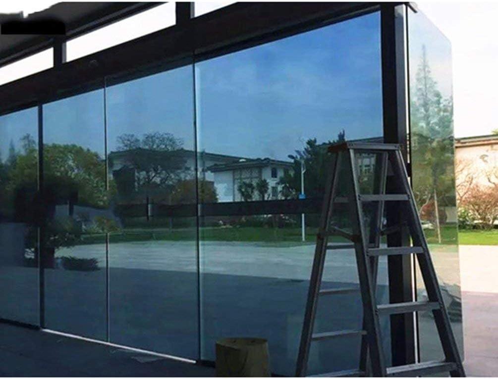 Queenaal Ventana Grande Vidrio de Vidrio Espejo Plata Aislamiento ...