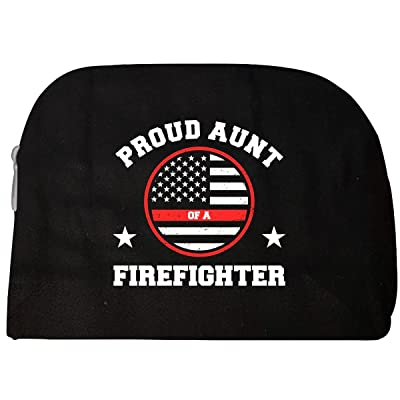 Proud Aunt Of A Firefighter - Cosmetic Case