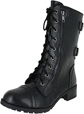 Womens Military Boots