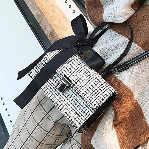 Lanciata Hong Spalla Tai Delle Sciarpe Borse Singola Donne Lana Yang Dimensioni Selvaggia Fx 19x13x6cm A Di colore B Colore Od7wOq