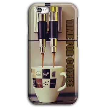 Café tiempo Espresso comida caliente espresso 3d iPhone 5/5s 6/6s 6 Plus/6S Plus 7/7 Plus 8/8 Plus Caso | Well Coda: Amazon.es: Electrónica