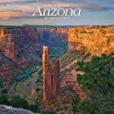 Arizona, Wild & Scenic 2019 12 x 12 Inch Monthly Square Wall Calendar, USA United States of America Southwest State Nature (Multilingual Edition)