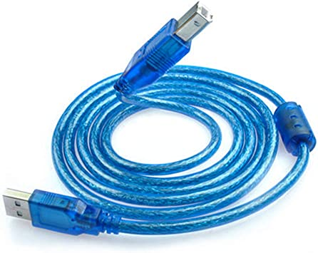 NEW 5FT 1.5M USB 2.0 A TO B HIGH SPEED PRINTER CABLE CORD
