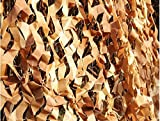 Camouflage Netting Party Decoration,Lightweight Jungle Sunscreen Net Multi-purpose Camping Military Hunting Shooting Hide Fishing Shelter,Woodland Camo Net Desert Camo Net Covering,20ftx20ft (6mx6m)