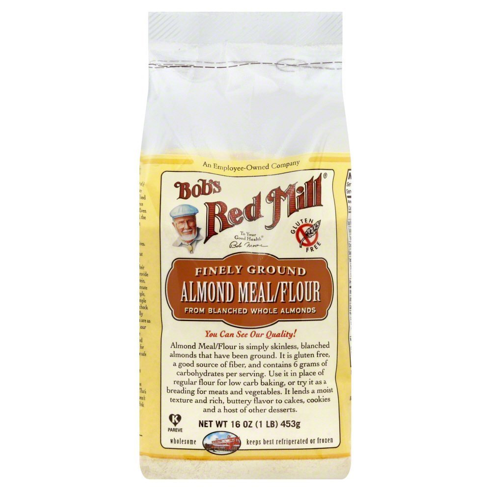 Bobs Red Mill Flour Almond Meal 16.0 OZ(Pack of 6)
