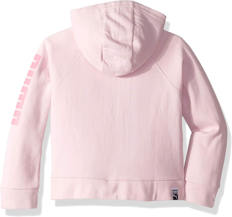 PUMA Little Girls Fleece Zip Up Hoodie