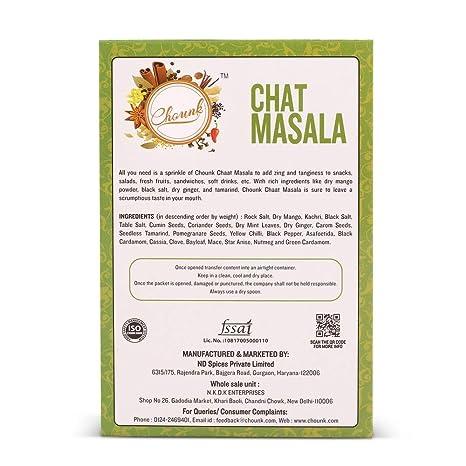 Chounk Chaat Masala, 100g: Amazon in: Grocery & Gourmet Foods