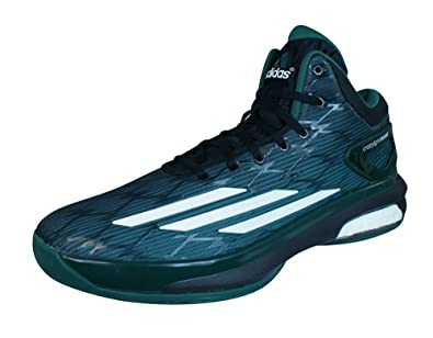 online store 4115b f4feb adidas Crazylight Boost Basketball Shoes Green Amazon.co.uk Sports   Outdoors
