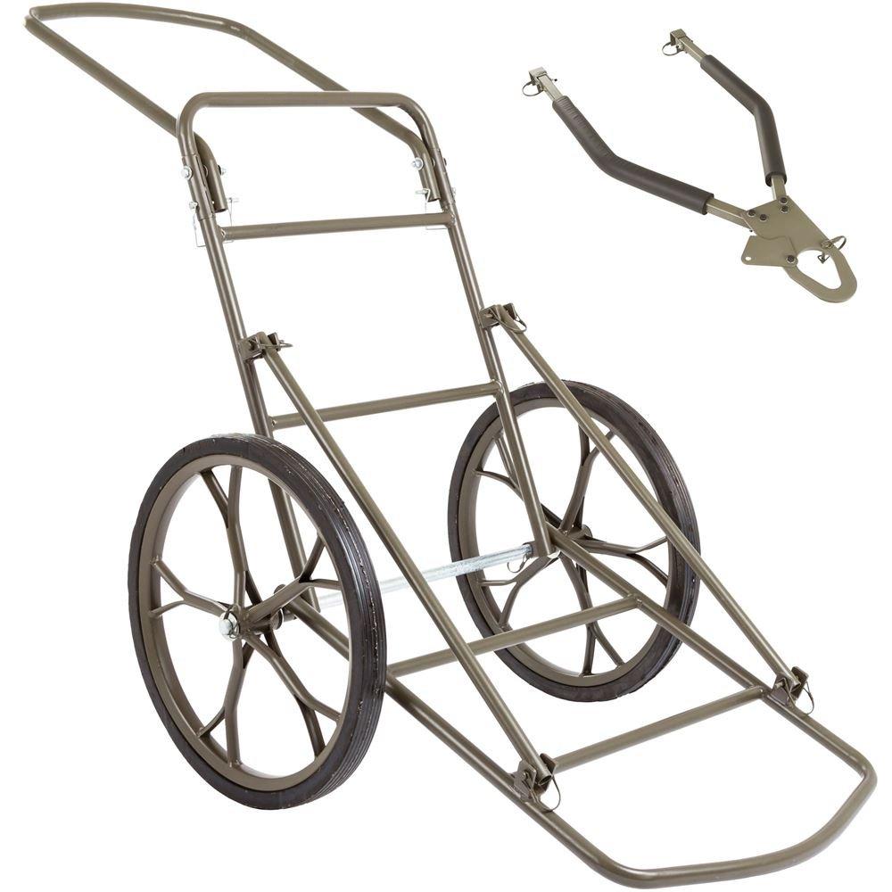 Kill Shot 500 lb Capacity Game Cart with Tow Bar by Kill Shot