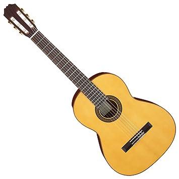 Aria Aria - Guitarra clásica ace-5s L/de mano izquierda eléctrica ...
