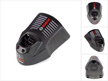 Bosch GAL 1230 CV Cargador de batería - Power Tool Batteries & Chargers (Cargador de batería, Bosch, Ión de litio, 3 A, Negro, 0 - 45 °C)