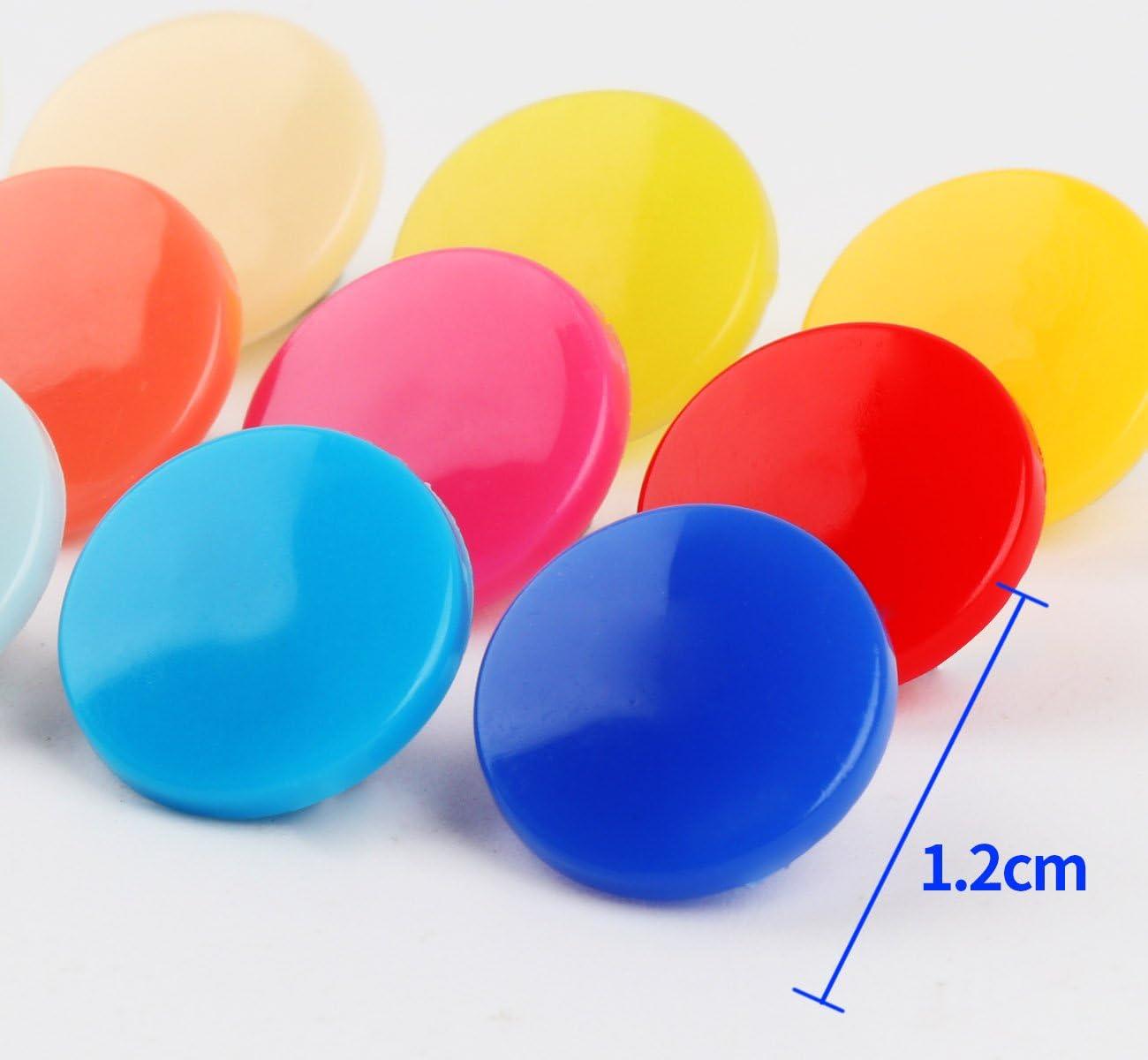 ilauke Botón Presión, 24 Colores de 408 Piezas de Plástico ...