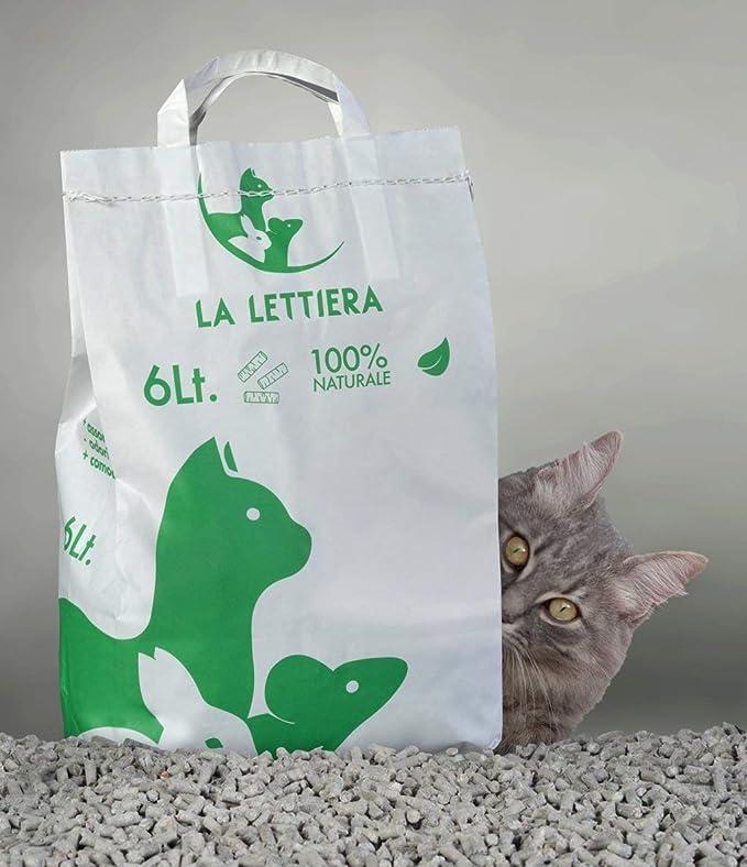 24 Litros - Arena para gatos conejos Roedores Reptiles Ecológica larga duración: Amazon.es: Productos para mascotas