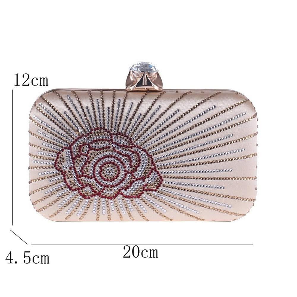 JSXL handtasche Damentaschen Polyester Abendtasche Knöpfe Kristalle Gold Schwarz   Silberhandtasche Handtaschen Tasche Clutches Koffer Umhängetasche B07HMCRPWC Umhngetaschen Große Auswahl