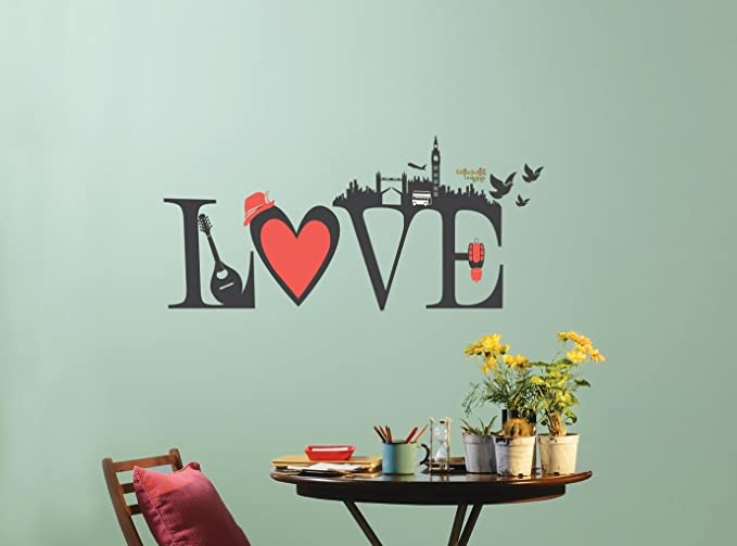 Buy asian paints nilaya love wall stickers online at low prices in india amazon in