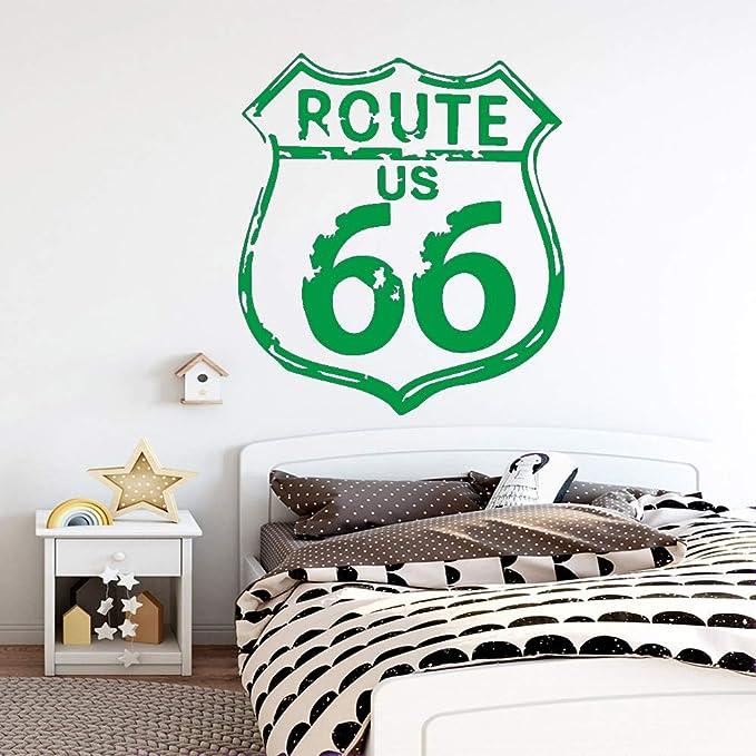 Ruta clásica Nosotros 66 Pegatinas de pared Amante de los ...