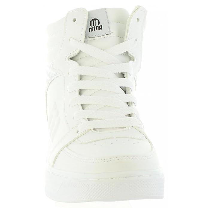 Action Mujer C19667 69908 De Zapatos Mtng Amazon es Blanco Botines 1qXAHw5x
