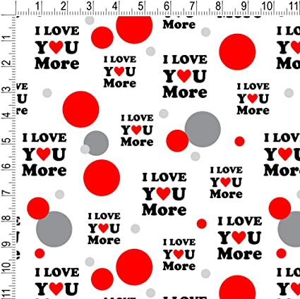 Funny Love Gift Wrap Wedding Day Gift Wrap Set Anniversary Wrapping Paper Set Wife Gift Wrap Watercolour Anniversary Gift Wrap Set