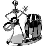 Música iron man art acero bolígrafo recipiente soporte lápiz Copa ...