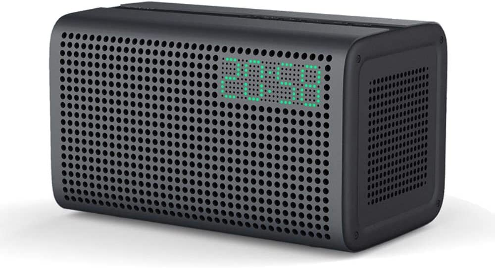 Altavoz Compacto WJYLM, Altavoz inalámbrico Bluetooth Altavoces de música WiFi HiFi con Reloj Despertador LED Columna Bluetooth Altavoces para Salas múltiples: Amazon.es: Electrónica
