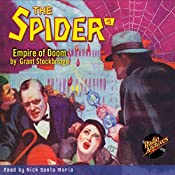 Spider #5 February 1934: The Spider | Grant Stockbridge,  RadioArchives.com