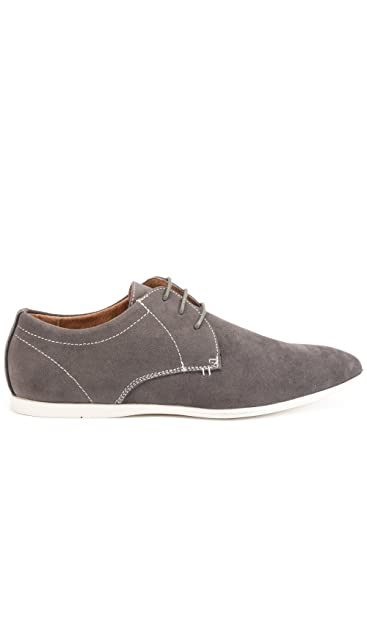 Reservoir Shoes Derbies Velour à Bout Rond Homme  Amazon.fr ... 10061f033137