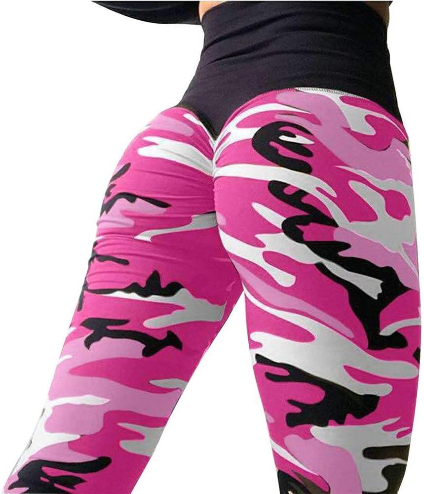 Sporthose Damen Yogahose Laufhose Frauen hohe Taille Stretch Butt Lifting Leggings Mode Yoga Hosen Capri Sommer lange Hosen Jogger athletische Tanz Strumpfhosen Activewear Yoga Sporthose Stretch-Hose
