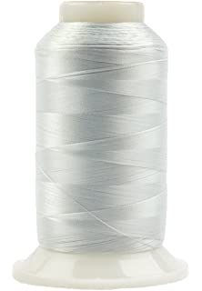 Specialty Threads Silk-Like Thread for Fine Sewing 100wt 2500m InvisaFil 2-Ply Cottonized Soft Polyester Red WonderFil