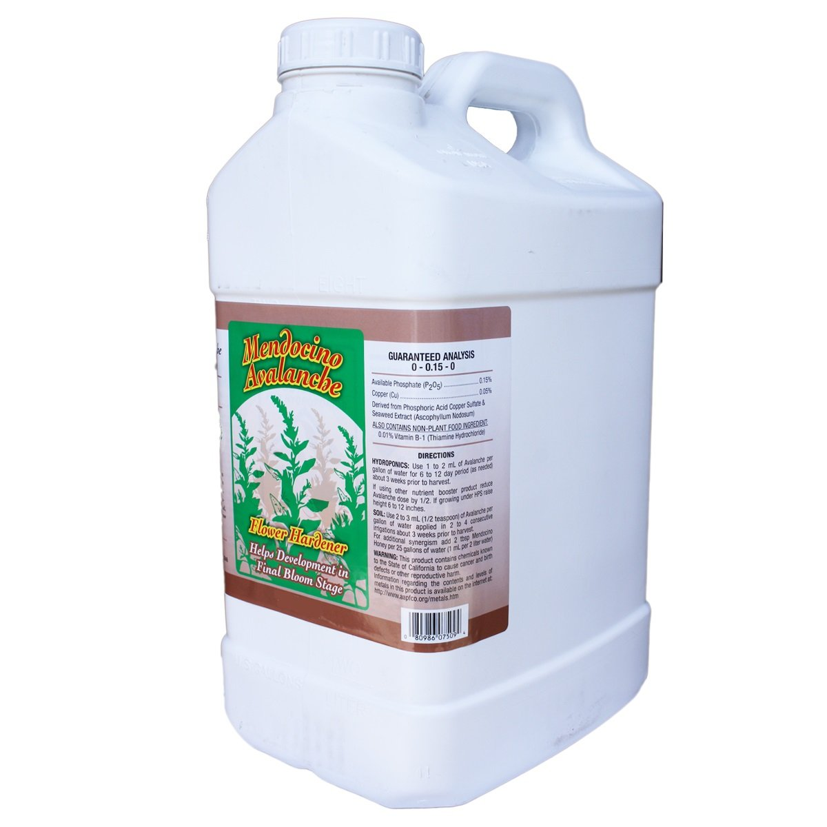 Grow More 7502 Mendocino Avalanche, 2.5-Gallon by Grow More