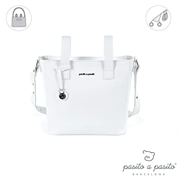 Pasito a Pasito Panera Total - Bolsa, unisex, color blanco: Amazon.es: Bebé
