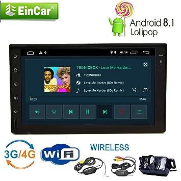Radio más nuevo coche con GPS Android 8.1 Oreo 2 GB de ...