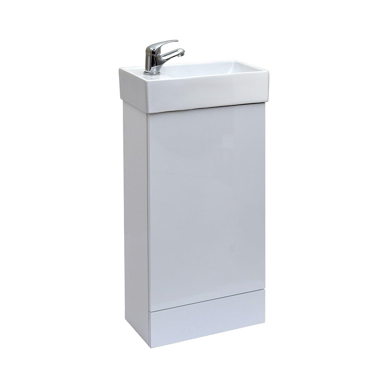 ENKI Waschbecken Weiss mit Unterschrank Badezimmer Waschtischarmatur Waschtischarmatur Waschtischarmatur cde28a