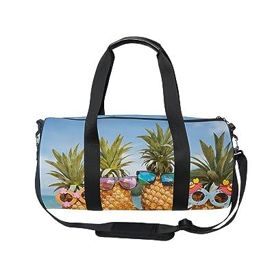70%OFF Cooper girl Beach Tropical Pineapple Duffels Bag Travel Sport Gym Bag