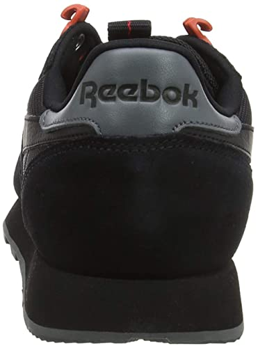 e0a81be4c417 Reebok Men's Cl Leather Explore Gymnastics Shoes, Black/Alloy/Carotene, 8  UK: Amazon.ae