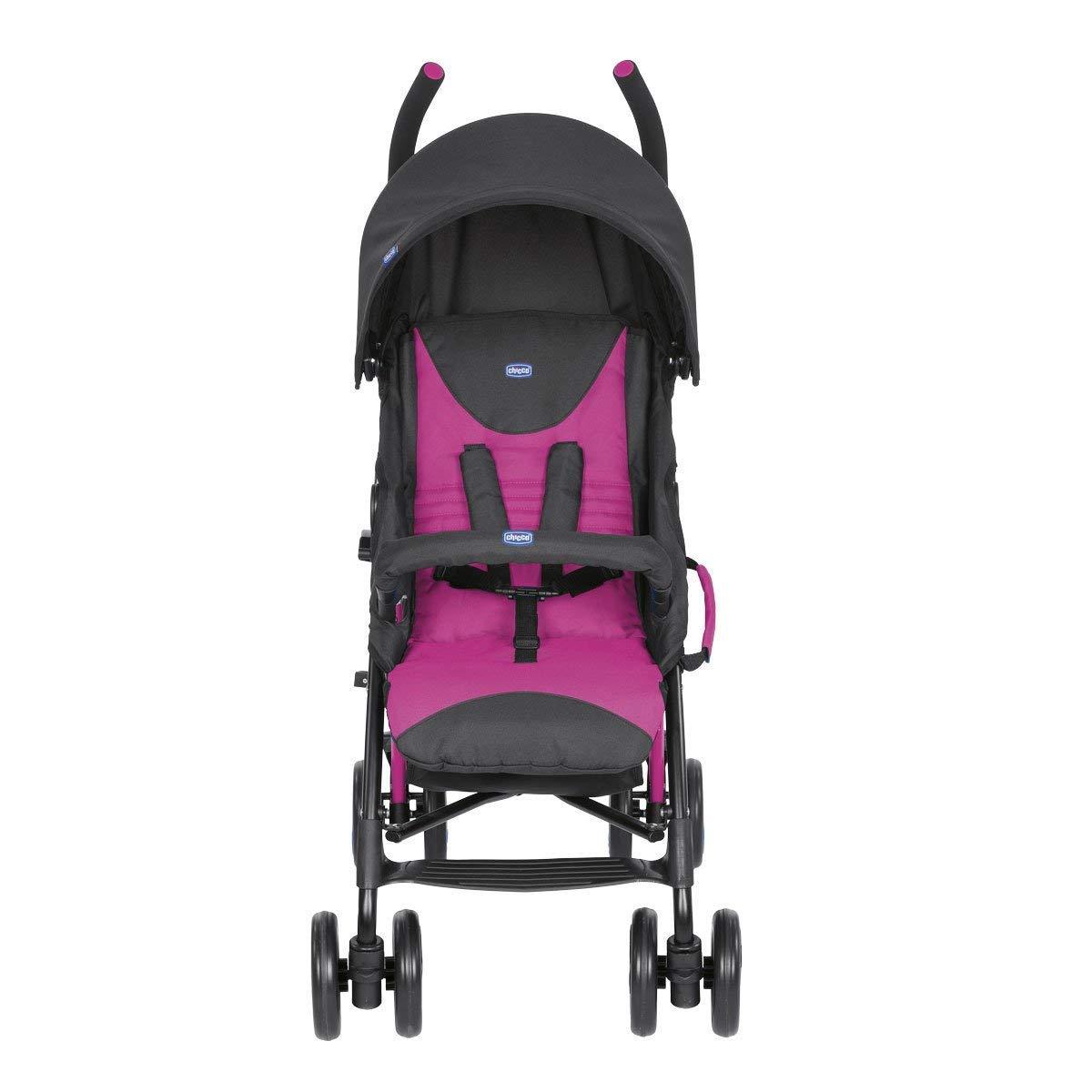 ligera y compacta Chicco New Echo 7,6 kg Silla de paseo color rosa
