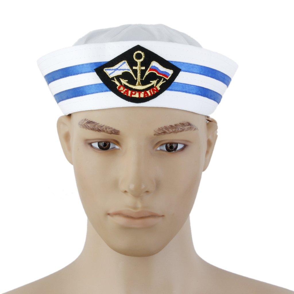 MagiDeal Yacht Capitano Della Barca Cappello Da Marinaio Tappo Marini  Partito Costume - Colore  3  Amazon.it  Giochi e giocattoli a4884ffbd11a
