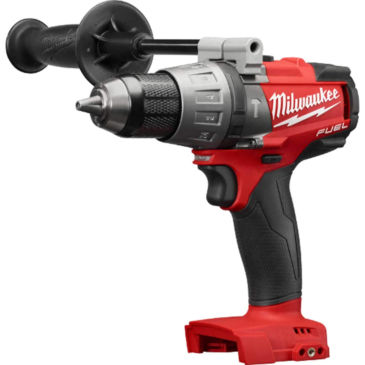 Milwaukee 2804-20 M18 FUEL 1/2 in. Hammer Drill (Tool Only) Tool-Peak Torque = 1,200 by MILWAUKEE ELECTRIC TOOLS CORP (Image #1)